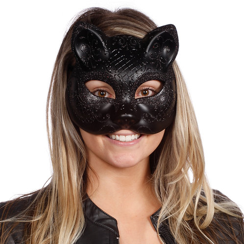 Masqarae  Black Cat Mask - BK