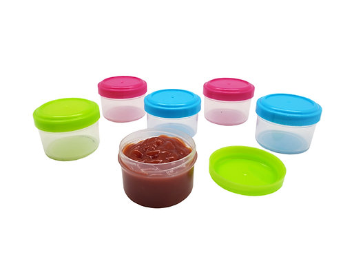 Kolorae Mini Containers - 6 count