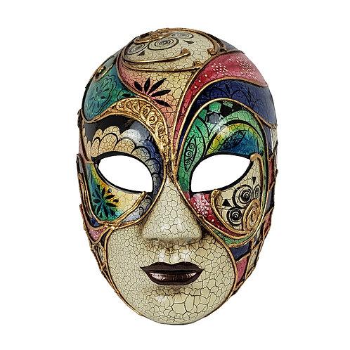 Masqarae Colorful Lady Mask - Bl