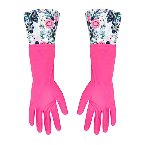 Kolorae Cleaning Gloves Rosey Floral