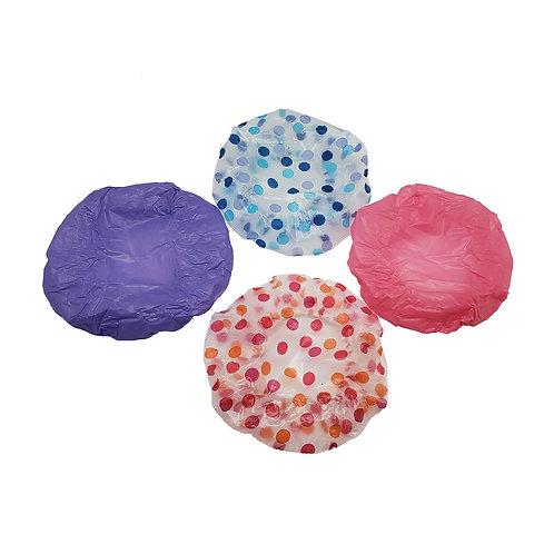Katelle Shower Caps - 4PC - Assorted