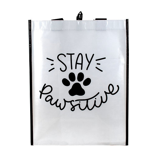 Kolorae Graphic Tote Stay Pawsitive