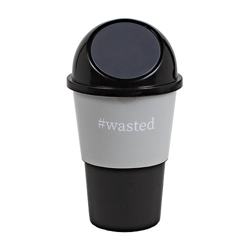 Kolorae Cup Holder Waste Can Wasted
