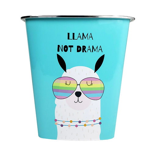 Kolorae Waste Can Llama Not Drama