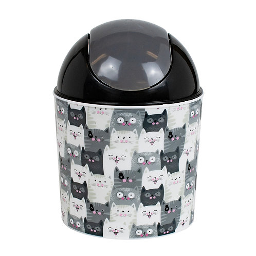 Kolorae Mini Waste Can Cats