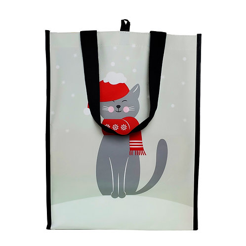 Kolorae Graphic Tote Winter Cat