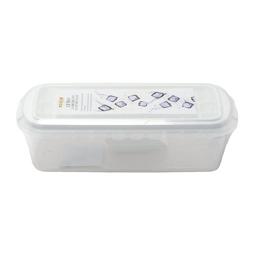 Kolorae Ice Tray 30 Mini Cube with Bucket and Scoop