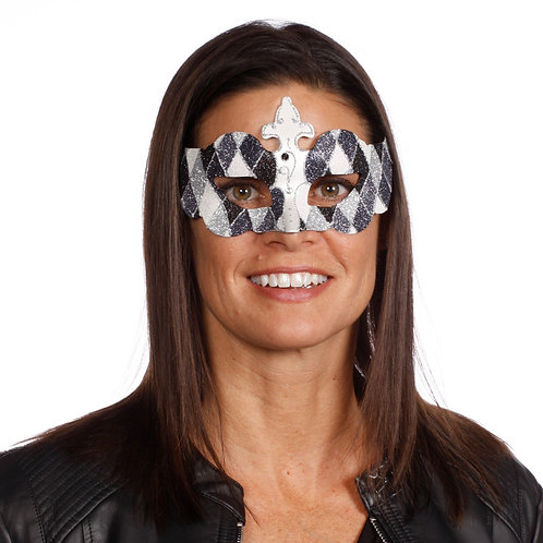 Masqarae Harlequin Eye Mask - BS