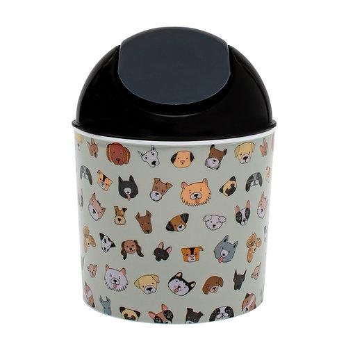 Kolorae Mini Waste Can Darling Dogs