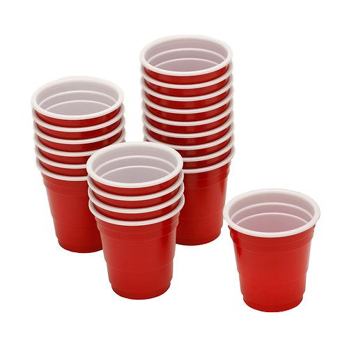 barY3 Red Mini Cups
