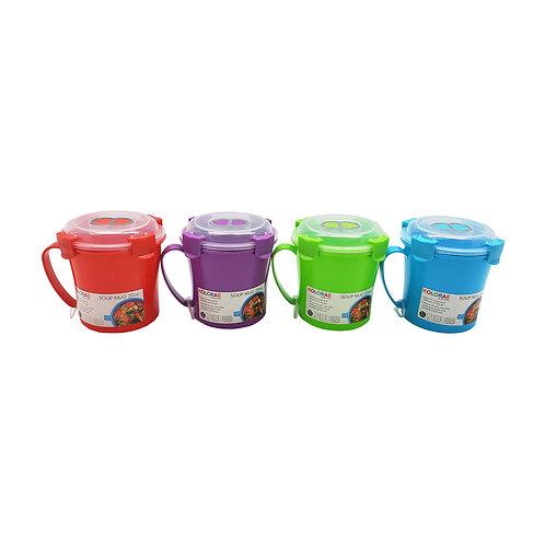 Kolorae Soup Mug- 20 OZ- Assorted
