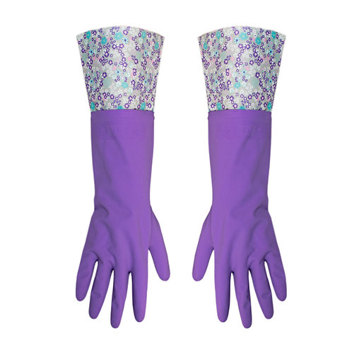 Kolorae Cleaning Gloves Purple Petals