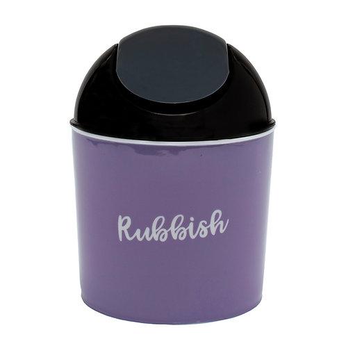 Kolorae Mini Waste Can Lavender Rubbish