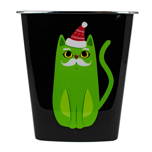 Kolorae Waste Can Grinch Cat