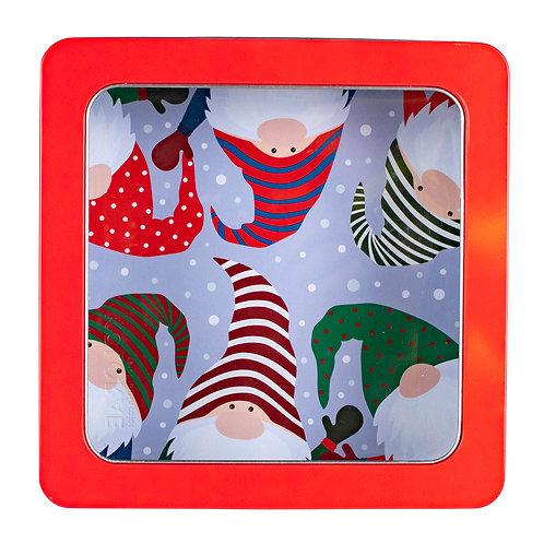 """Kolorae Tin 8"""" PVC Square Gnome & Friends"""