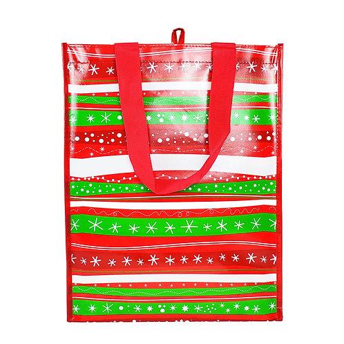 Kolorae Graphic Tote Holiday Stripe