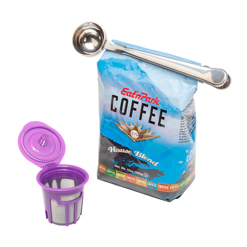 Countertop Cafe Coffee Filter and Scoop Set