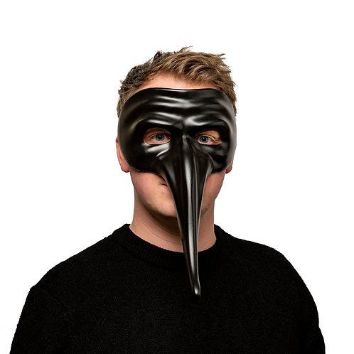 Masqarae Long Nose Mask - BK