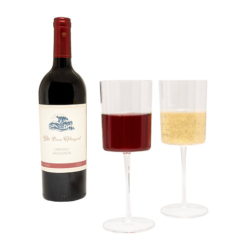 Bary3 11Oz Wine Glasses - 6 Count