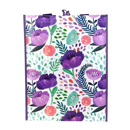 Kolorae Graphic Tote Purple Floral 2