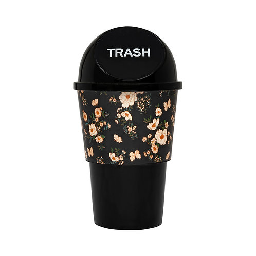 Kolorae Cup Holder Waste Can Floral Frenzy