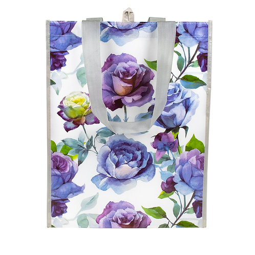 Kolorae Graphic Tote Purple Floral