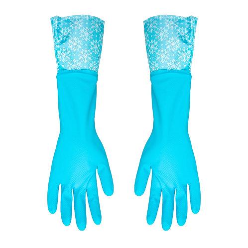Kolorae Cleaning Gloves Blue Snowflake
