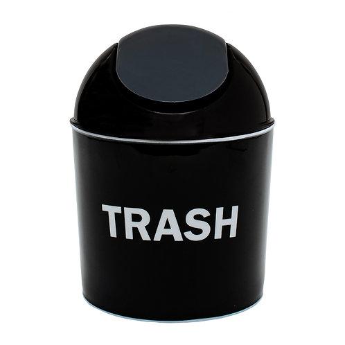 Kolorae Mini Waste Can Trash On Black