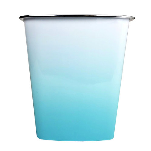 Kolorae Waste Can Blue Ombre