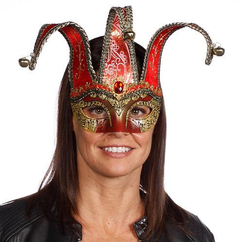 Masqarae Half Jester Eye Mask - RG