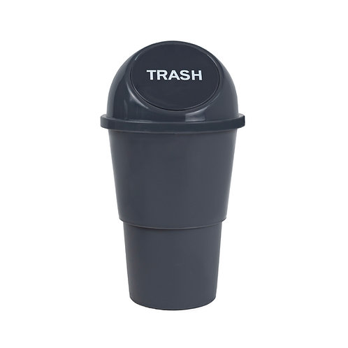 Kolorae Cup Holder Waste Can Grey Basic