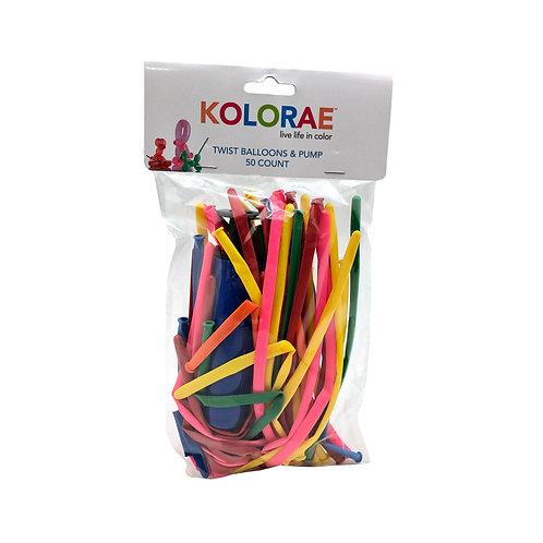 Kolorae Twist Ballons and Pump