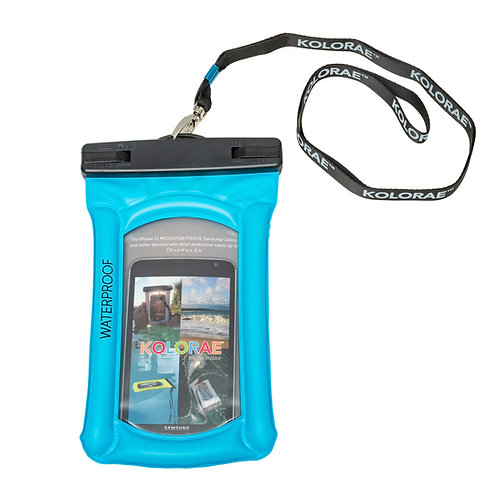 Kolorae Float Phone Dry Bag - Blue