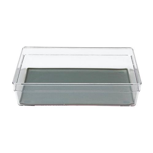 """Kolorae Drawer Organizer with Silicone Liner 9"""" x 6.1"""""""
