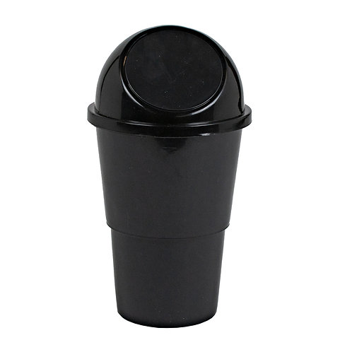 Kolorae Cup Holder Waste Can Basic Black