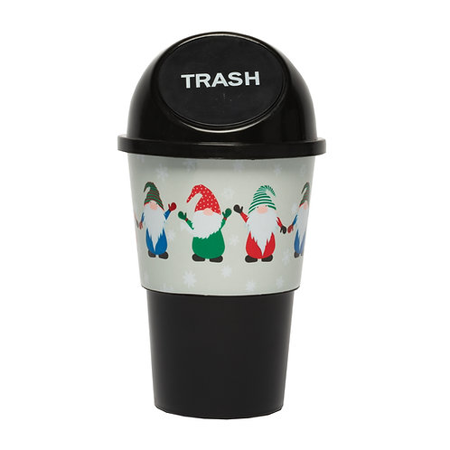 Kolorae Cup Holder Waste Can Gnomes