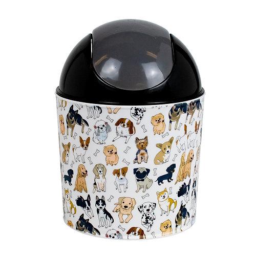 Kolorae Mini Waste Can Dapper Dogs