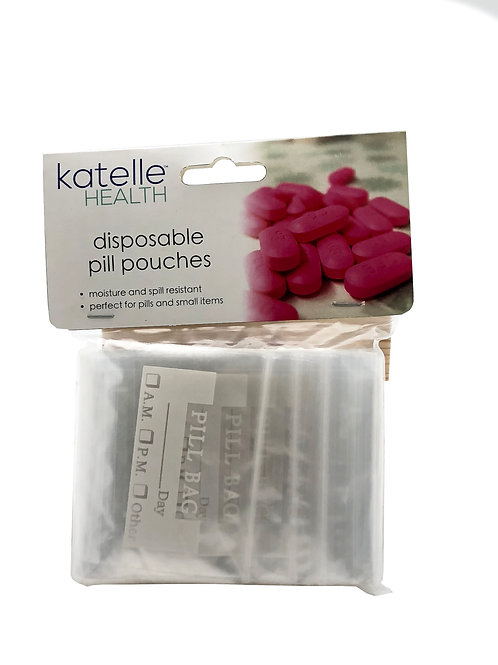 Katelle Disposable Pill Pouches - 100 Count