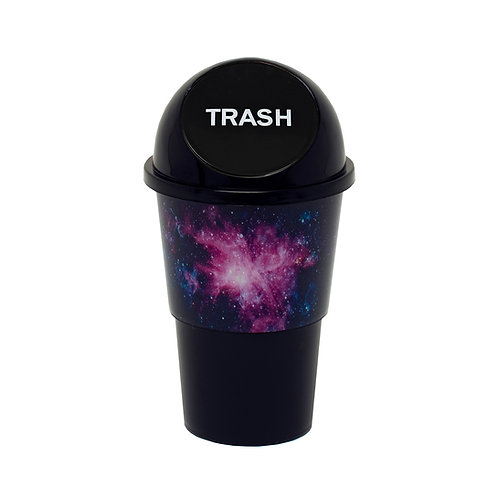 Kolorae Cup Holder Waste Can Galaxy