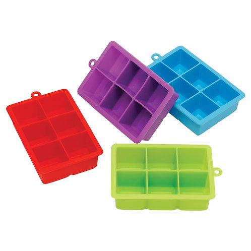 Kolorae Silicone Ice Tray 6 Large Cubes