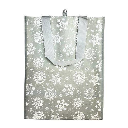 Kolorae Graphic Tote Grey Snowflake