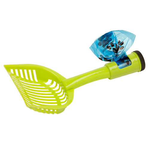 Blue Paws LitterScoop With Bag Holder