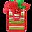 Thumbnail: Kolorae Graphic Tote Holiday Stripe