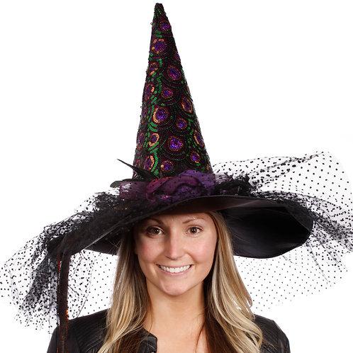 Masqarae Carlisle Witch Hat - MULTI