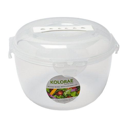 Kolorae Round Bowl with Locking Lid