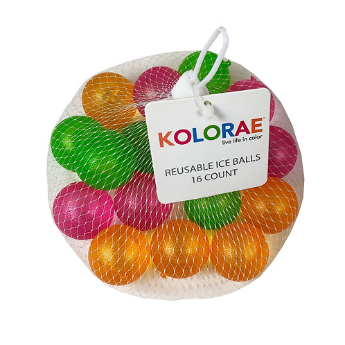 Kolorae Reusable Ice Balls-16 count