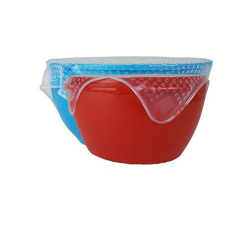 Viovia Silicone Bowl Covers - Set of 2