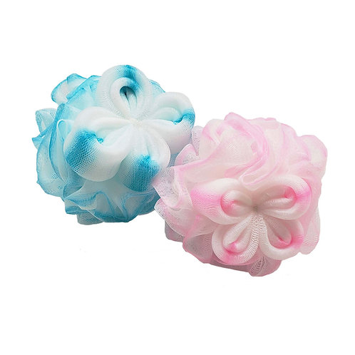 Katelle Shower and Bath Flower Mesh Sponge