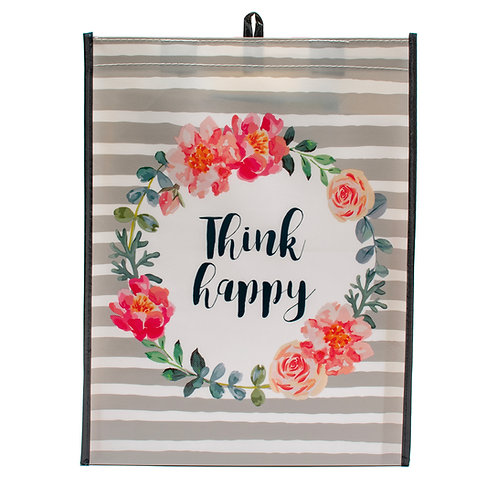 Kolorae Graphic Tote Think Happy