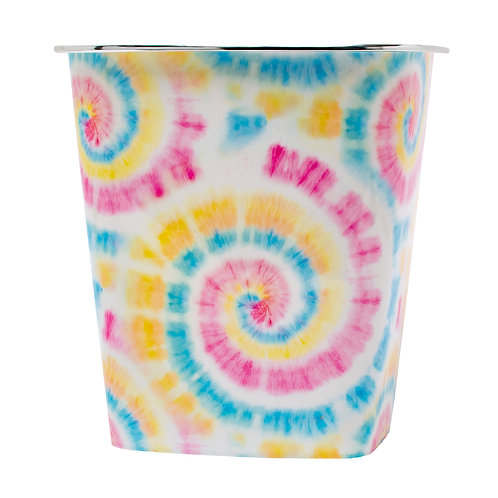 Kolorae Waste Can Pastel Tie Dye